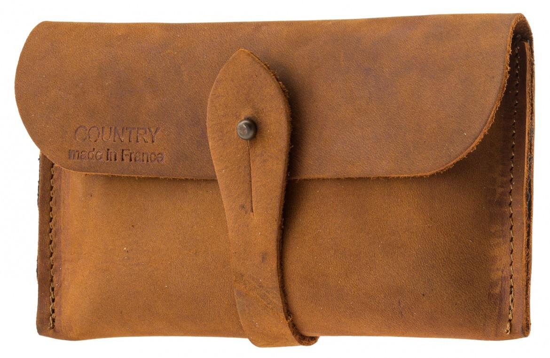 8be08e8a351 POCHETTE EN CROÛTE de cuir - Country Sellerie - EUR 14